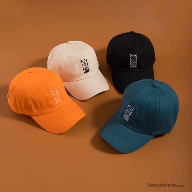 【小物】刺繍アルファベット棒球帽43204430