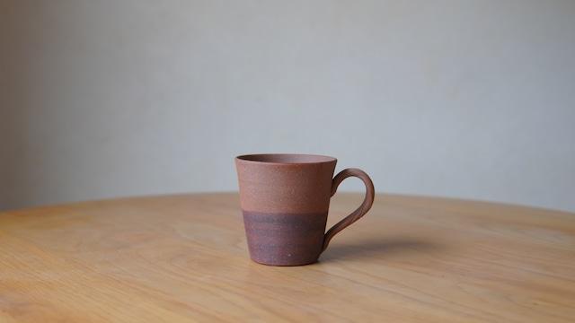 渡邊琢磨「ツートーンマグカップ緋」(w-19)