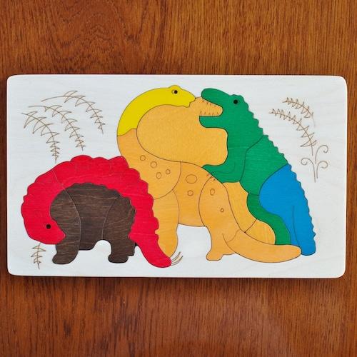ジョージラック 2重パズル ディノサウルス