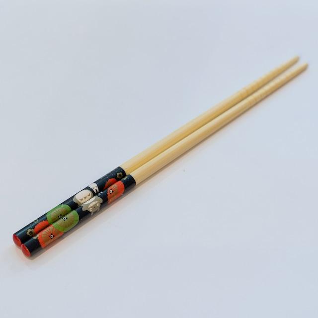 となりのトトロ 天然竹箸(トトロ20/6020)