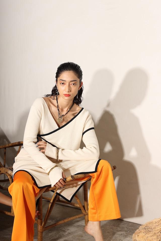 【2022 Spring 予約商品】MOTEL KNIT 2-PIECE DRESS ※表示価格はデポジットとして商品価格の30%のお値段です