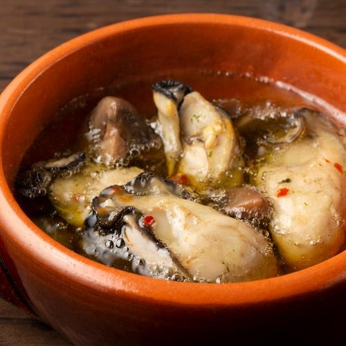 広島県産 牡蠣のアヒージョ140g【レンジで簡単調理】