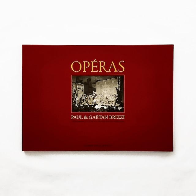 展示会カタログ「Opéras (オペラ)」Paul & Gaëtan Brizzi(ポール&ガエタン・ブリッツィ)