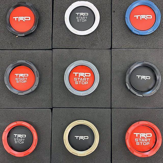 【 Meso Customs 】 Interior Chrome Delete Push Start Button Trim
