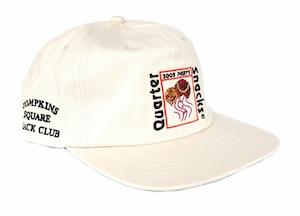 QUARTERSNACKS PARTY CAP WHITE