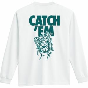 CATCH'EM DRY L/S T BASE BALL /ホワイト