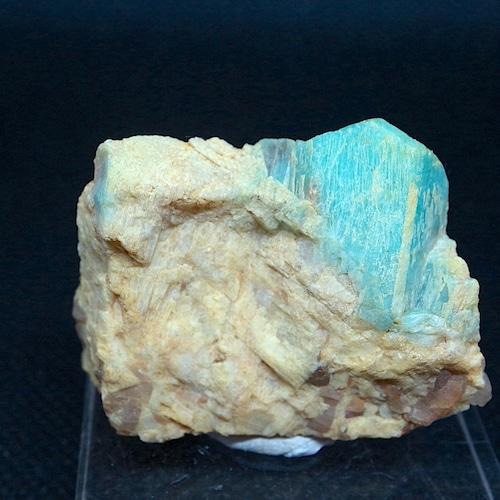 コロラド産 アマゾナイト 原石  25,8g AZ0068 天河石(てんがせき) 鉱物 天然石