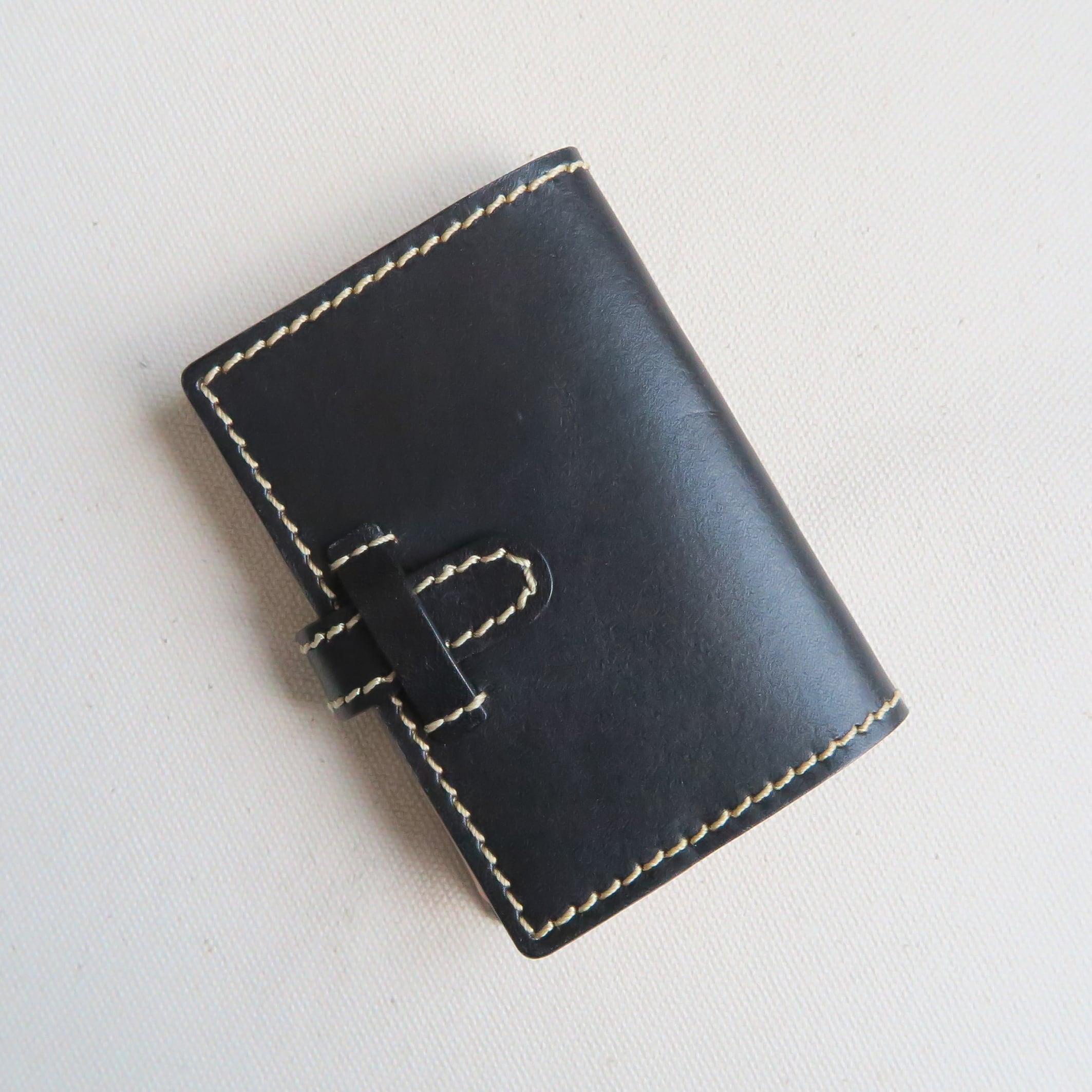 Pocket book card case BLACK