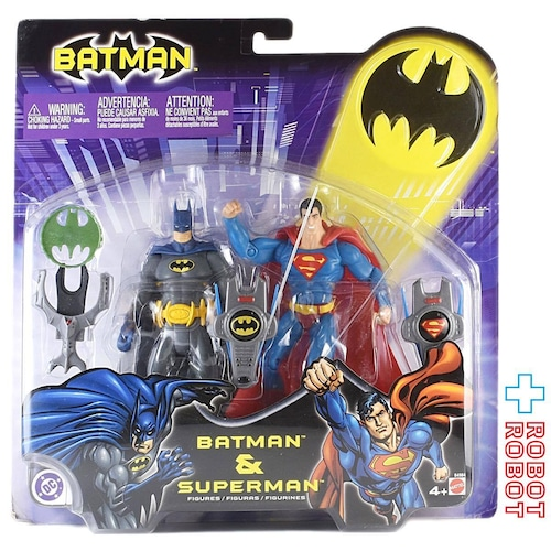 マテル バットマン & スーパーマン アクションフィギュア