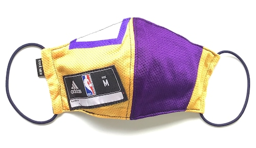 【デザイナーズマスク 吸水速乾COOLMAX使用 日本製】NBA LAKERS SPORTS SPECIAL MASK CTMR 1125032