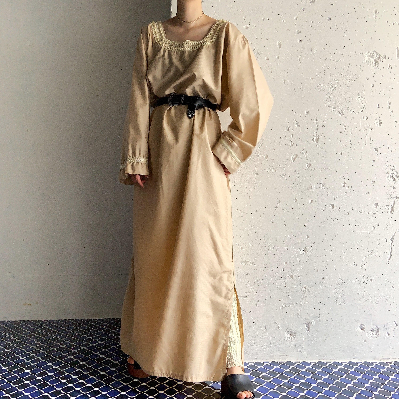 handmade vintage afghan maxi dress