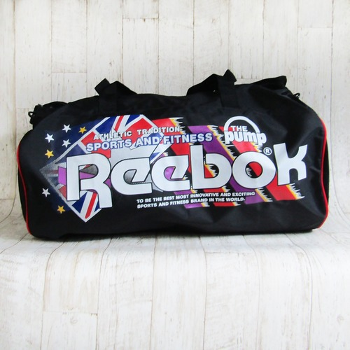 Reebok  トラベルバック 黒 ナイロン製