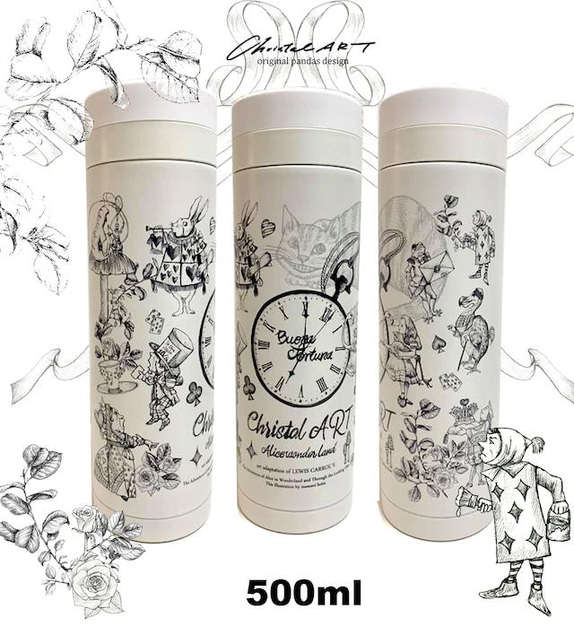 ◆即納◆アリス柄 500mlエコボトル◆
