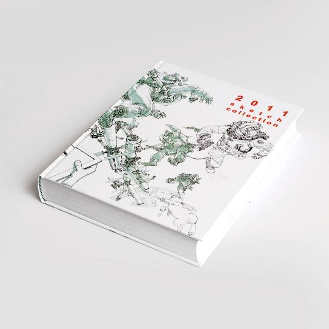 アートブック「2011 Sketch Collection」イラストレーター金政基(キム・ジョンギ、Kim Jung Gi)