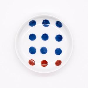 【限定1点 アウトレット品】波佐見焼 3寸豆小皿 豆絞り 253929 豆豆市140