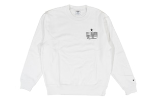 【STAR logo sweat】/ White