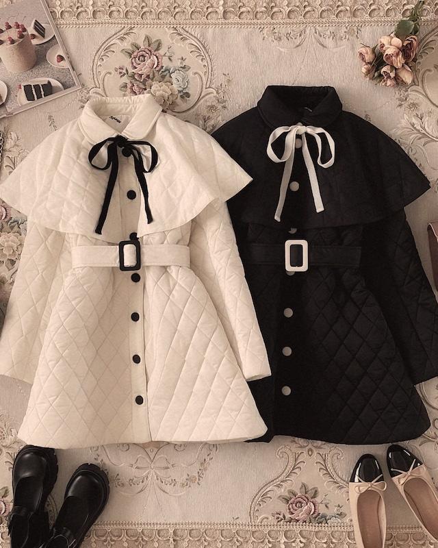 original quilting cape coat