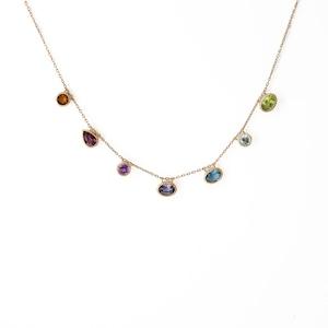 Mystic 7 Stones Necklace