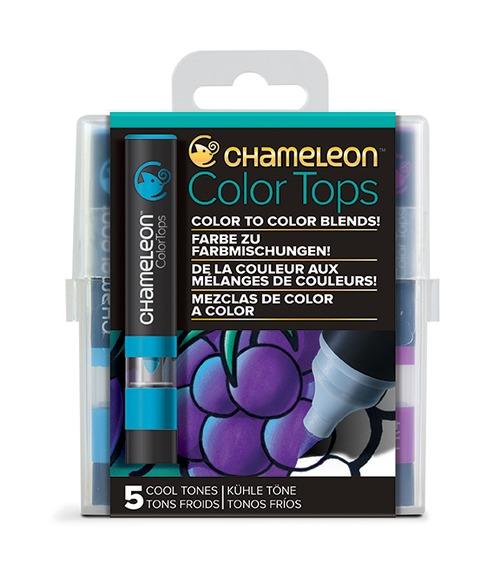 Chameleon Pen 5 Color Tops Cool Set (カメレオンペン 5本入りカラートップ クールセット)