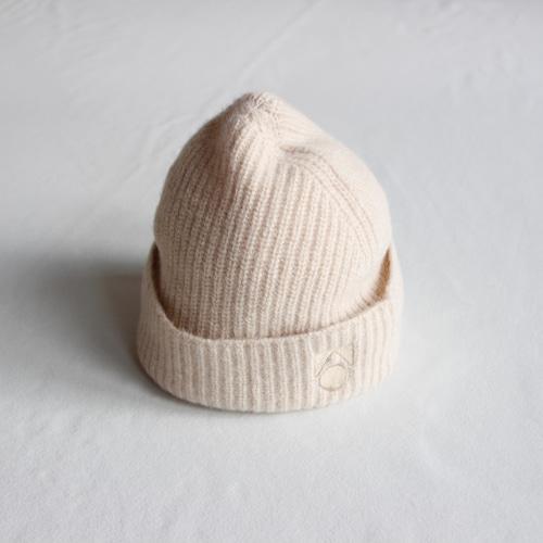 《main story 2021AW》Knitted Beanie / Cream