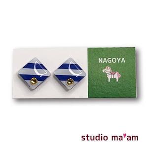 ■NAGOYA-15  ピアス。しかく。〜イヤリング変更可〜