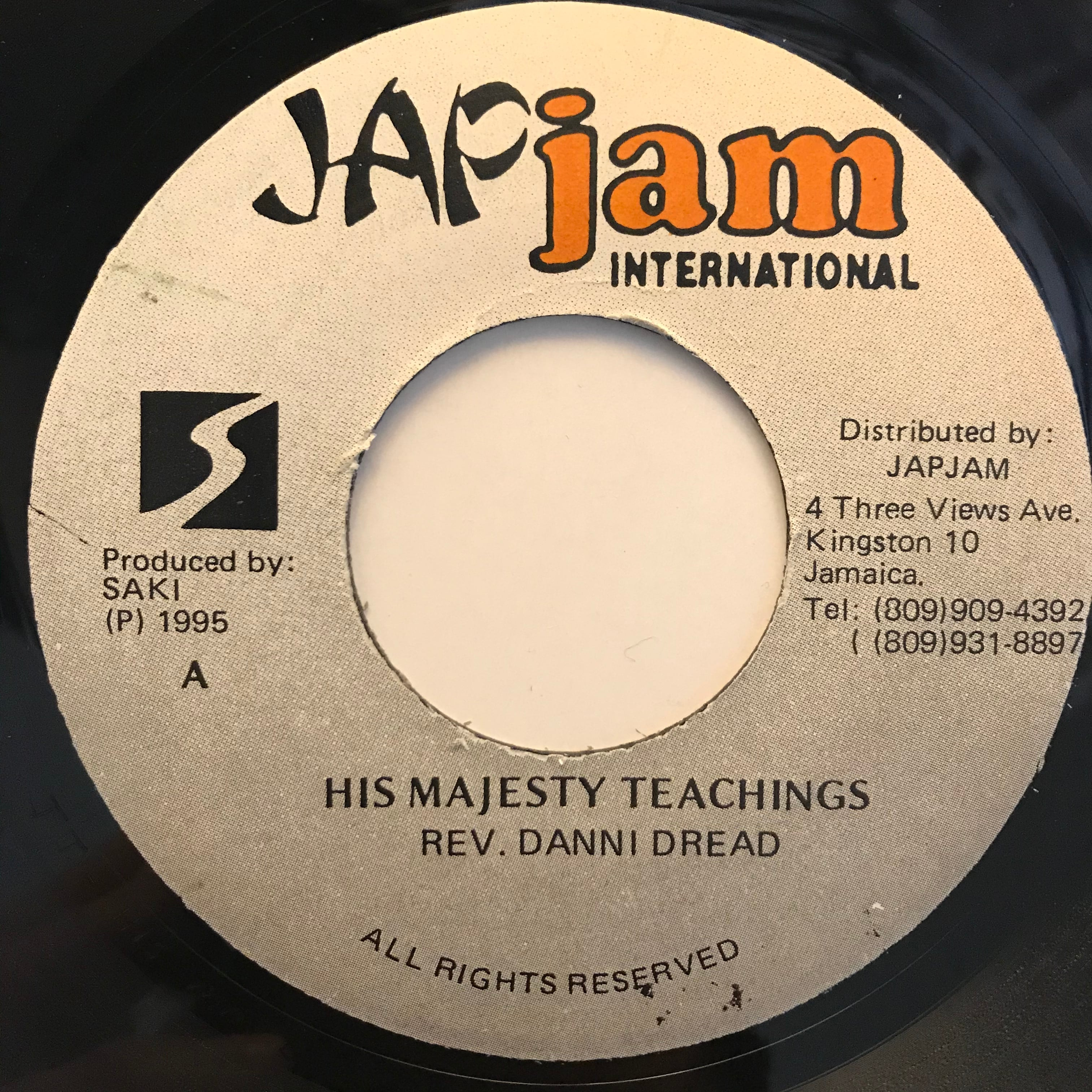 Danni Dread - His Majesty Teachings【7-10809】