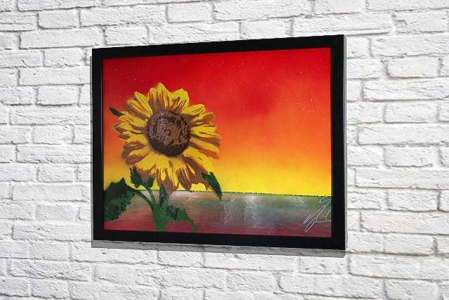 Sun flower (額入り特別作品)