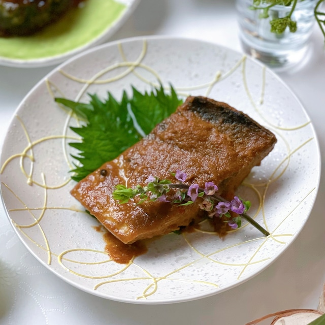 鯖のぬかだきと味噌煮