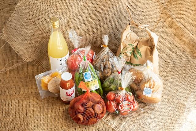 《単発・おためし》恵那山麓野菜おまかせセット(3人〜用)【送料込】