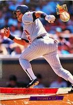 MLBカード 93FLEER Pedro Munoz #235 TWINS