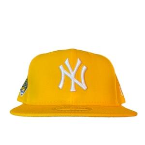 NEW ERA New York Yankees 1996 World Series 59Fifty Fitted / Yellow×White (Gray Brim)