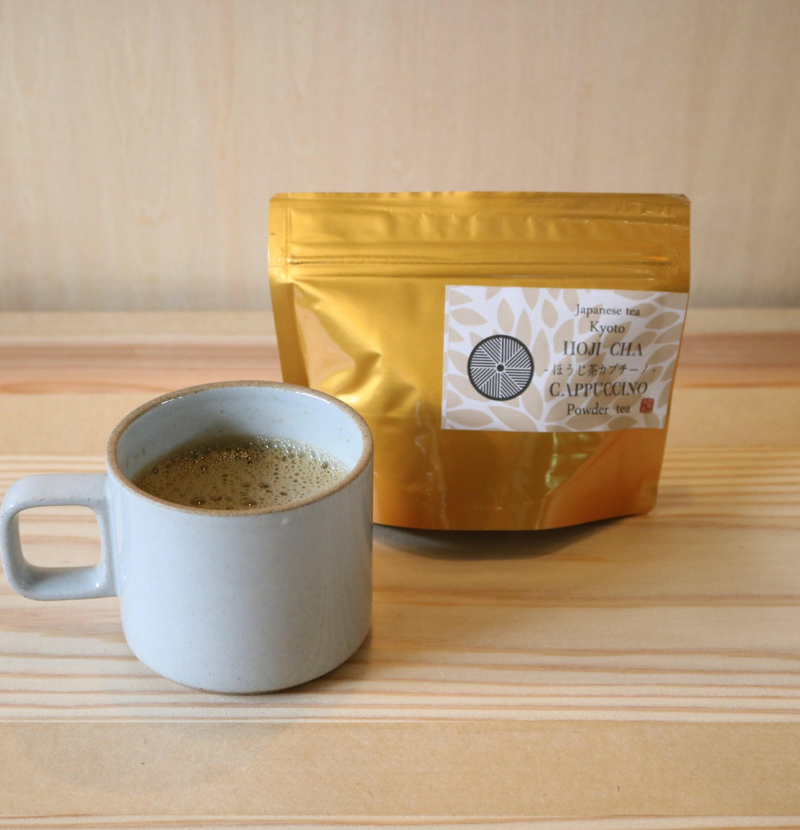 流々亭のほうじ茶カプチーノ【おうちcafe】120g詰
