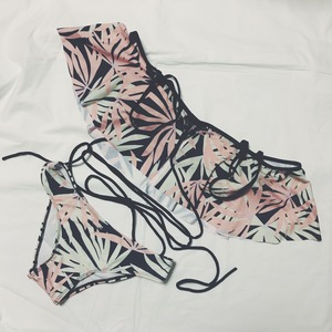 Bikini♡パステルパームオフショルビキニ GSB18S041MLC