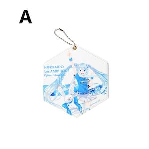 雪ミク×ファイターズ2021 パスケース