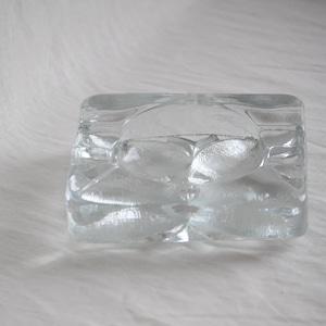 Vintage Glass Ashtray KOSTA BODA Sweden