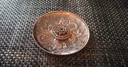 お香立て 中国 円形