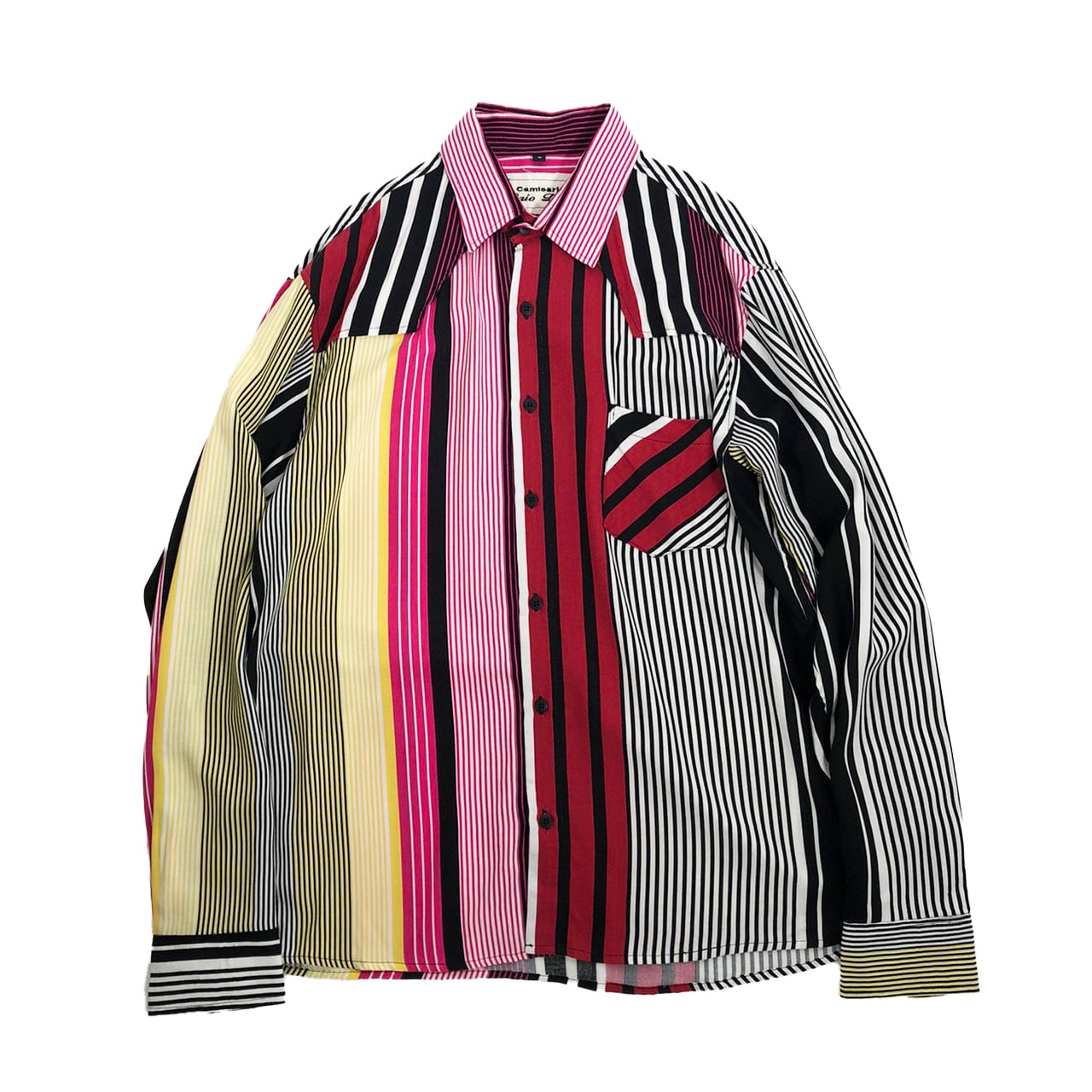 Caio Dias_Viscose Print Shirt:Long Sleeve