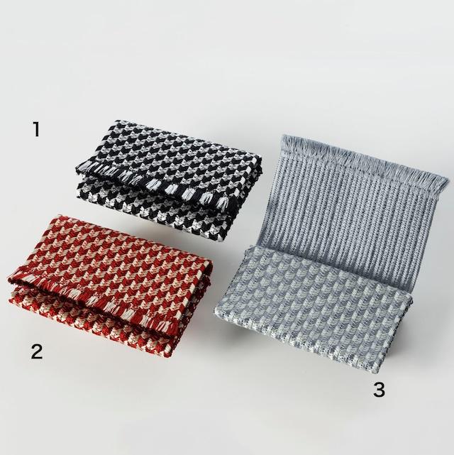 正絹カードケース 矢絣 Silk Card case