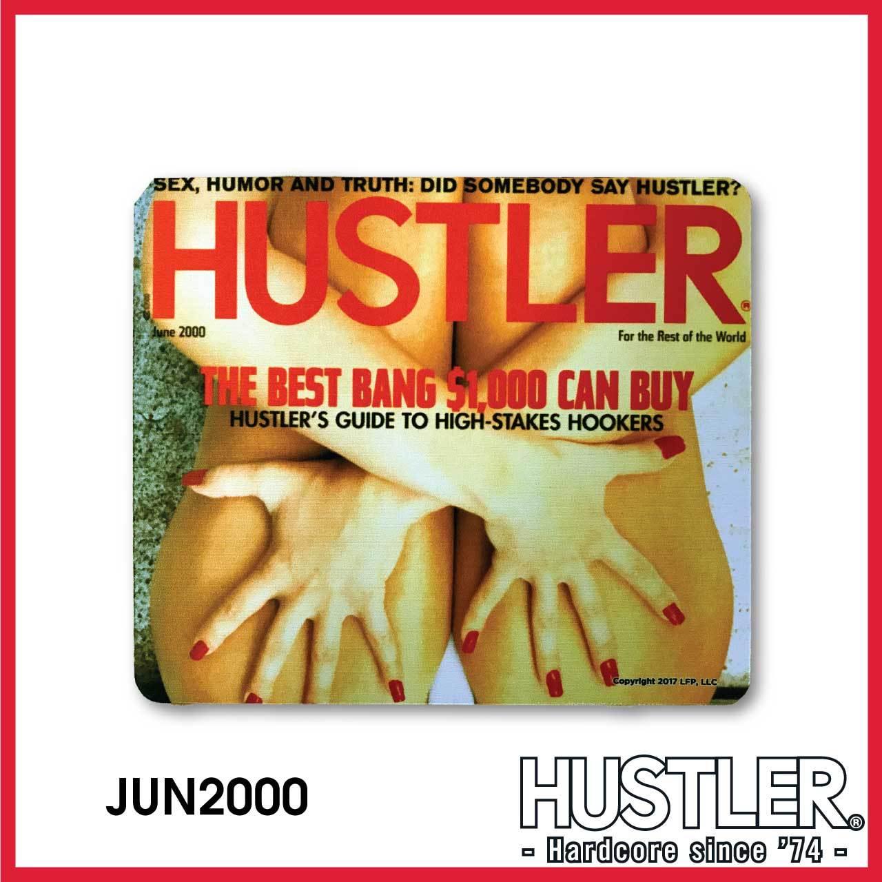 HUSTLER MOUSE PAD(ハスラー・マウスパッド) / JUNE 2000 カバー