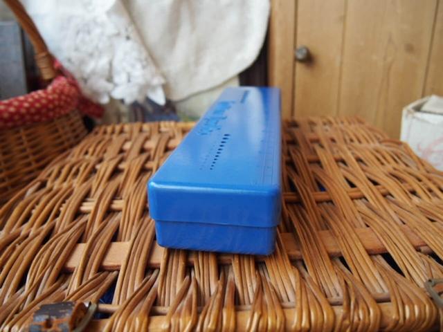イギリスアンティーク 編み針ケース(青)