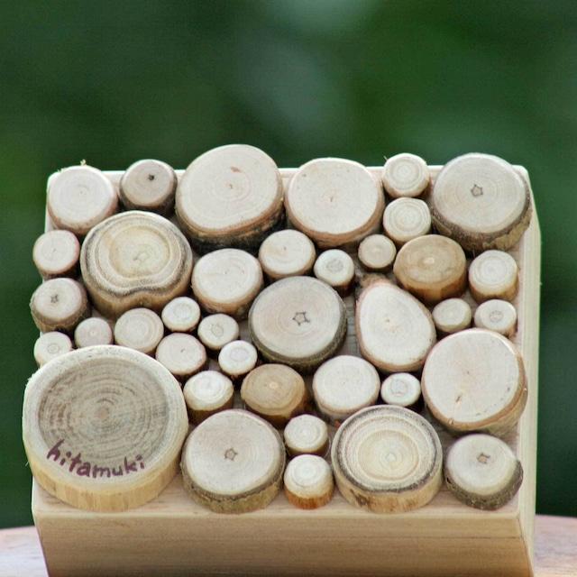 【富良野 森の贈り物】 森の小枝の飾り箱2(小物入れ)