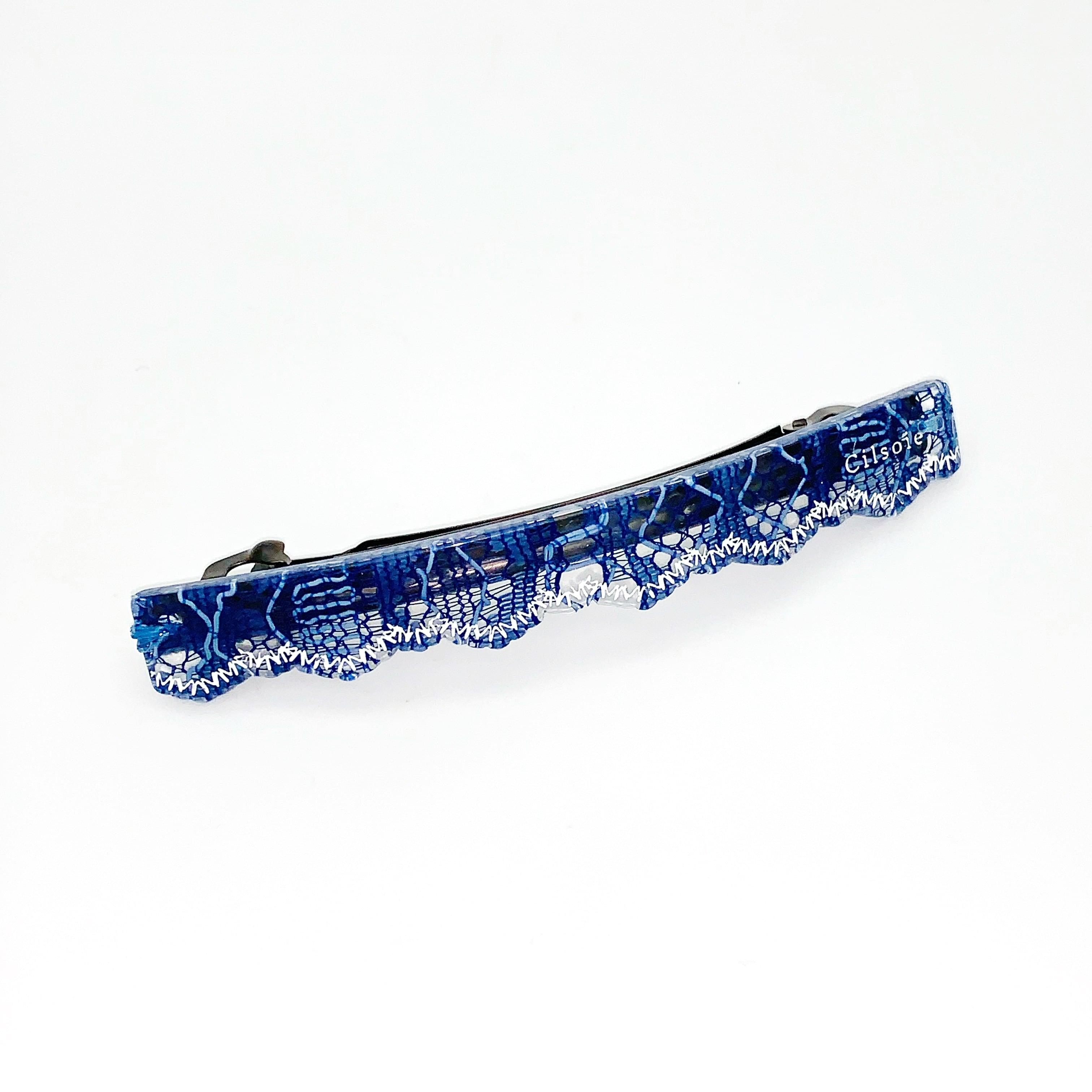 Cilsoie レースバレッタ Blue