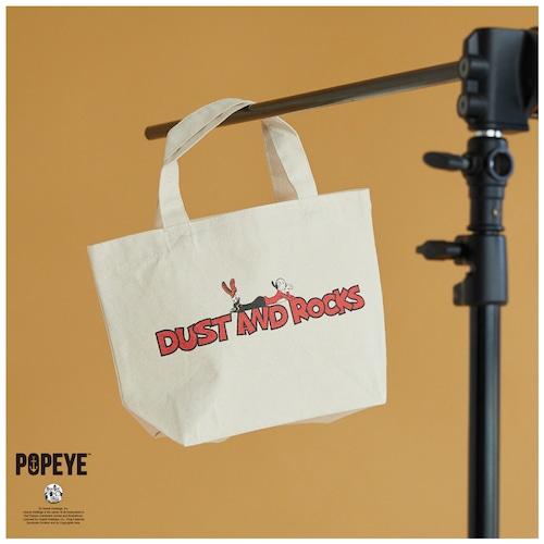 【 POPEYE™ × DUSTANDROCKS 】オリジナルロゴトートバッグ S