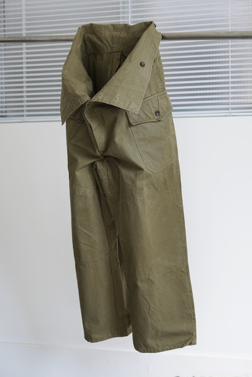 <SOLD OUT>Bulgaria Military - High Waist Pants