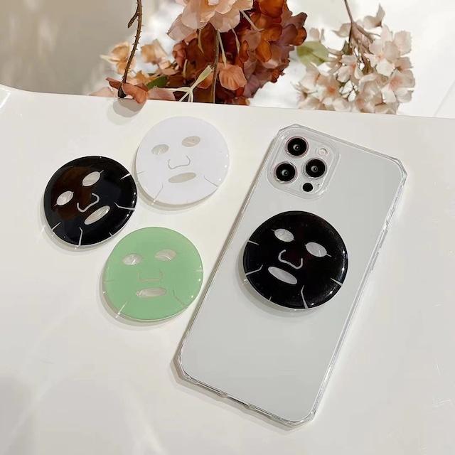Facial mask grip iphone case