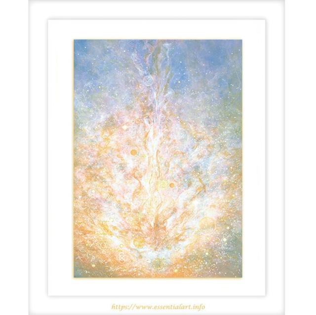 ☆定額制☆『希望のヒカリ』~アクリル画 原画作品~ヒーリングアート、癒しの絵画