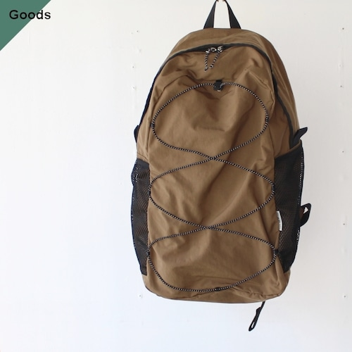 ENDS and MEANS  Packable Backpack EM-ST-A05 ブラウンベージュ
