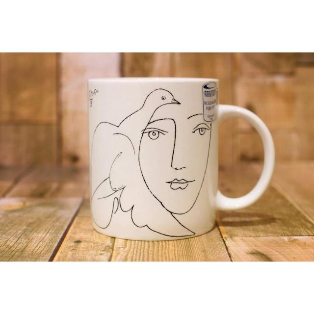 Picasso Corrida フェイス  【artマグカップ】   浜松雑貨屋C0pernicus(電子レンジ、食器洗浄機にも対応)