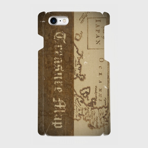 宝地図(1600年代) / iPhoneスマホケース(ハードケース)