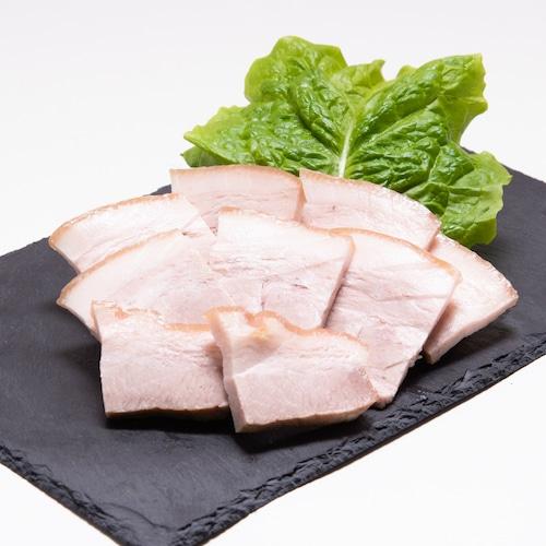 【冷蔵】蒸し豚バラ/ブロック/100gあたり390円/400g前後